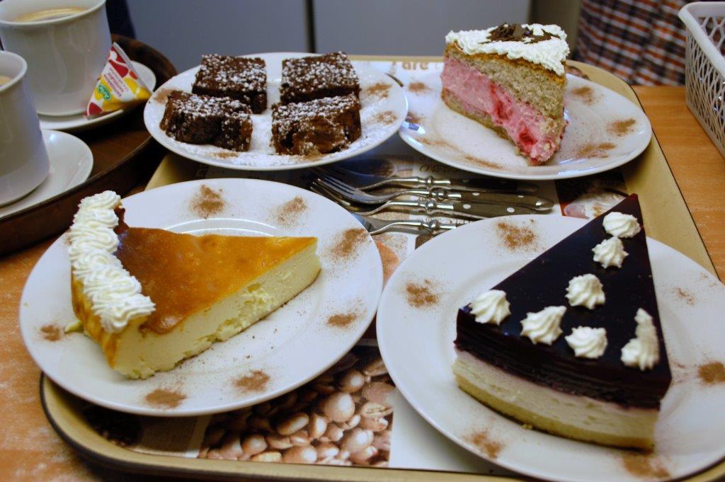 Kleiner Auszug unserer hausgemachter Kuchen